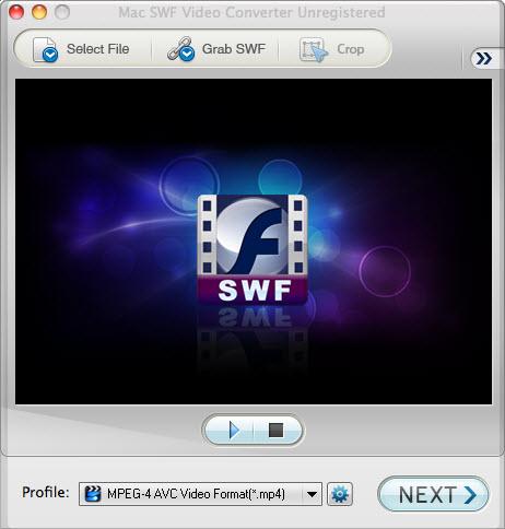 Mac SWF to MOV Converter